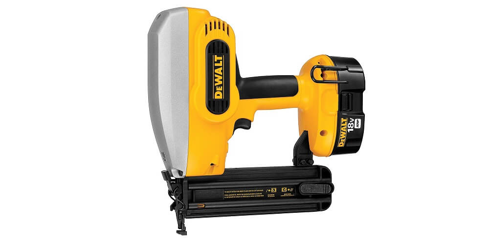 Powerful and Expensive: DEWALT DC608K 18-Gauge Brad Nailer Kit