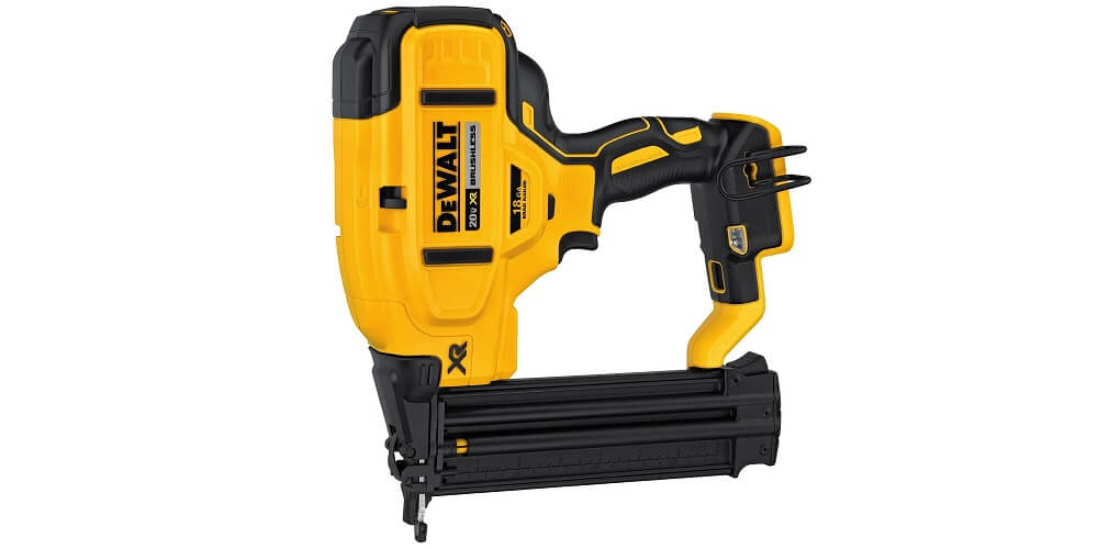 Best Multi-Purpose: DEWALT DCN680B 18 Gauge Brad Nailer
